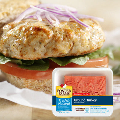 Foster Farms Fresh Ground Turkey Image