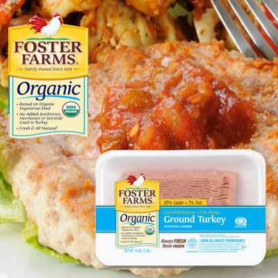 Foster Farms Organic Ground Chicken Image