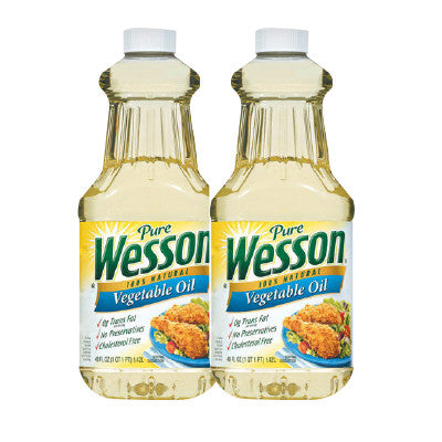 Wesson Oil Corn, Canola, or Vegetable 48 oz, Limit 2 Image