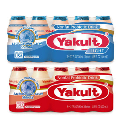 Yakult Probiotic Drinkable Yogurt Regular or Light Image