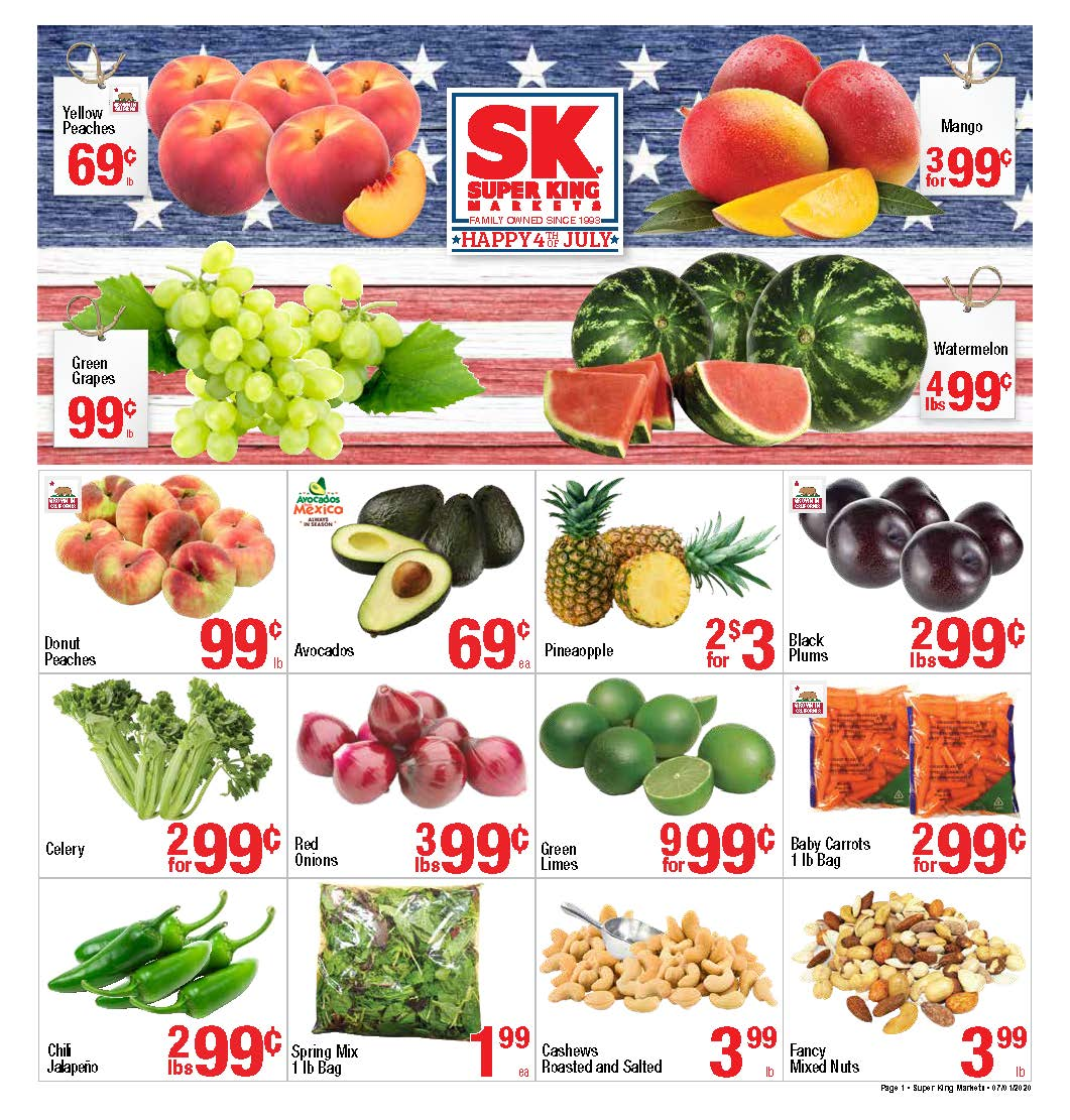 Super King Markets Banners