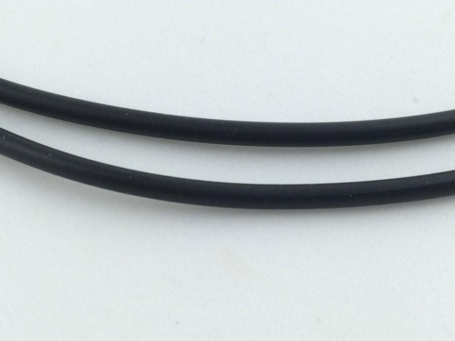 Black 2mm Jelly Cord
