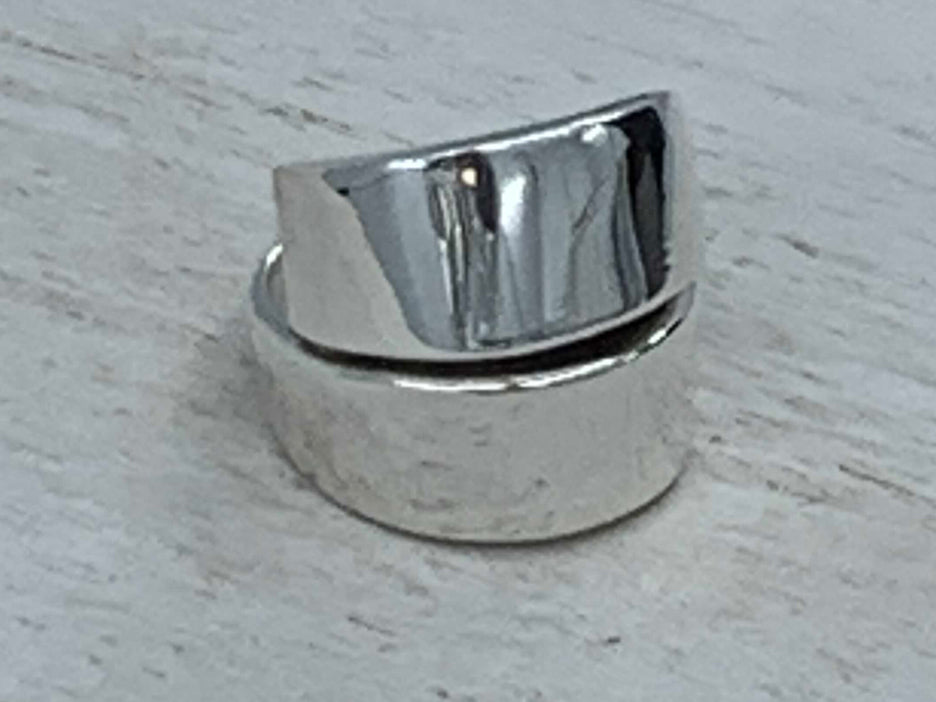 Heavy Fold Over Ring