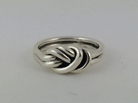 Textured Branches Sterling Silver Ring