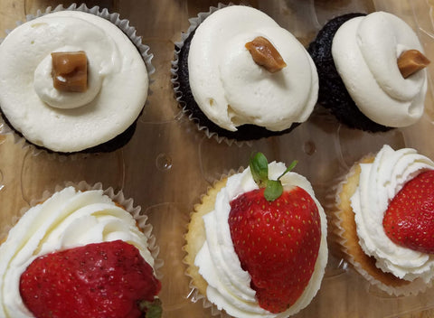 6 Assorted Cupcakes