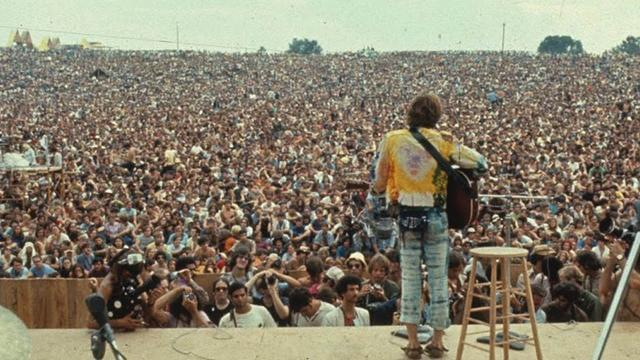 Woodstock becomes a free concert
