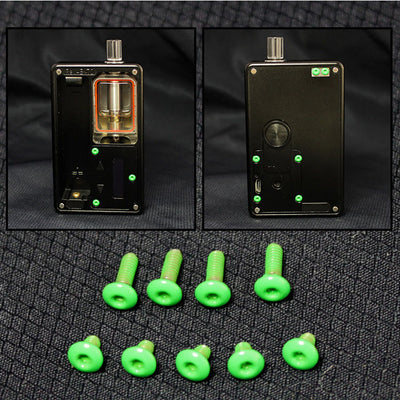SXK - SXK Billet Box V4 Screw Set - Green