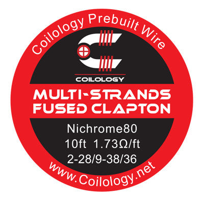 Coilology - Multi Strands Fused Clapton Wire (10ft)