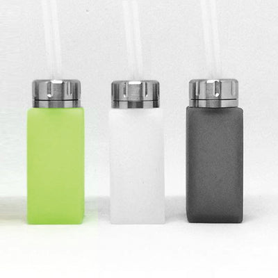 YFTK - 8.5ml Square Silicone Squonk Bottle Clear