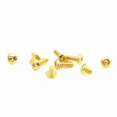 SXK - SXK Billet Box V4 Screw Set - 24K Gold Plated