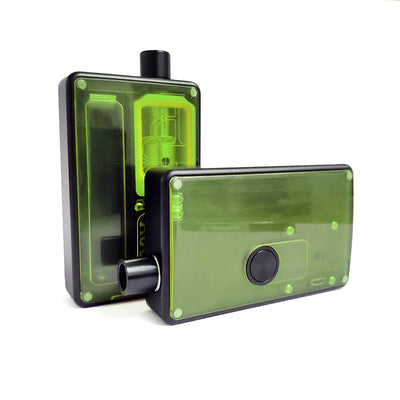 SXK - SXK Billet Box V4 Green Acrylic Doors