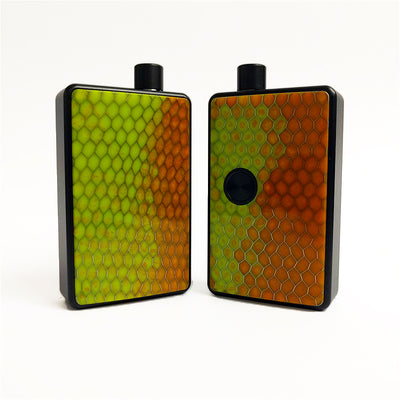 SXK - SXK Billet Box V4 Honeycomb Doors - Orange/Green