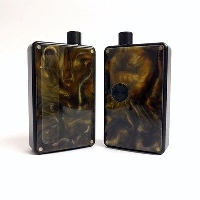 SXK - SXK Billet Box V4 Resin Doors - Brown/Orange