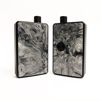 SXK - SXK Billet Box V4 Resin Doors - Black/White