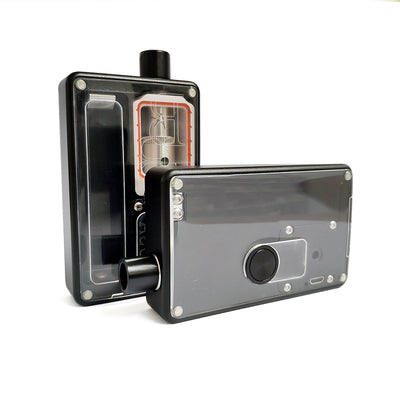 SXK - SXK Billet Box V4 Clear Acrylic Doors