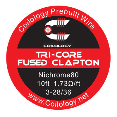 Coilology - Tri Core Fused Clapton Wire (10ft)