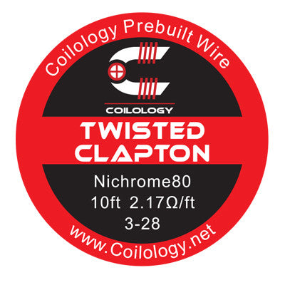 Coilology - Twisted Clapton Wire (10ft)