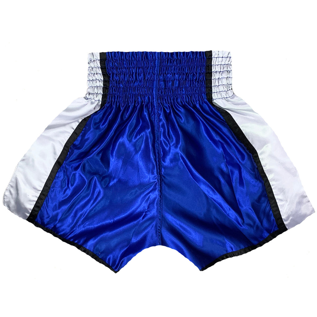 AK-47 Muay Thai Shorts Blue & White