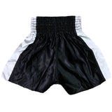AK-47 Muay Thai Shorts Black & White