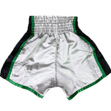 Muay Thai Shorts Green & Gray