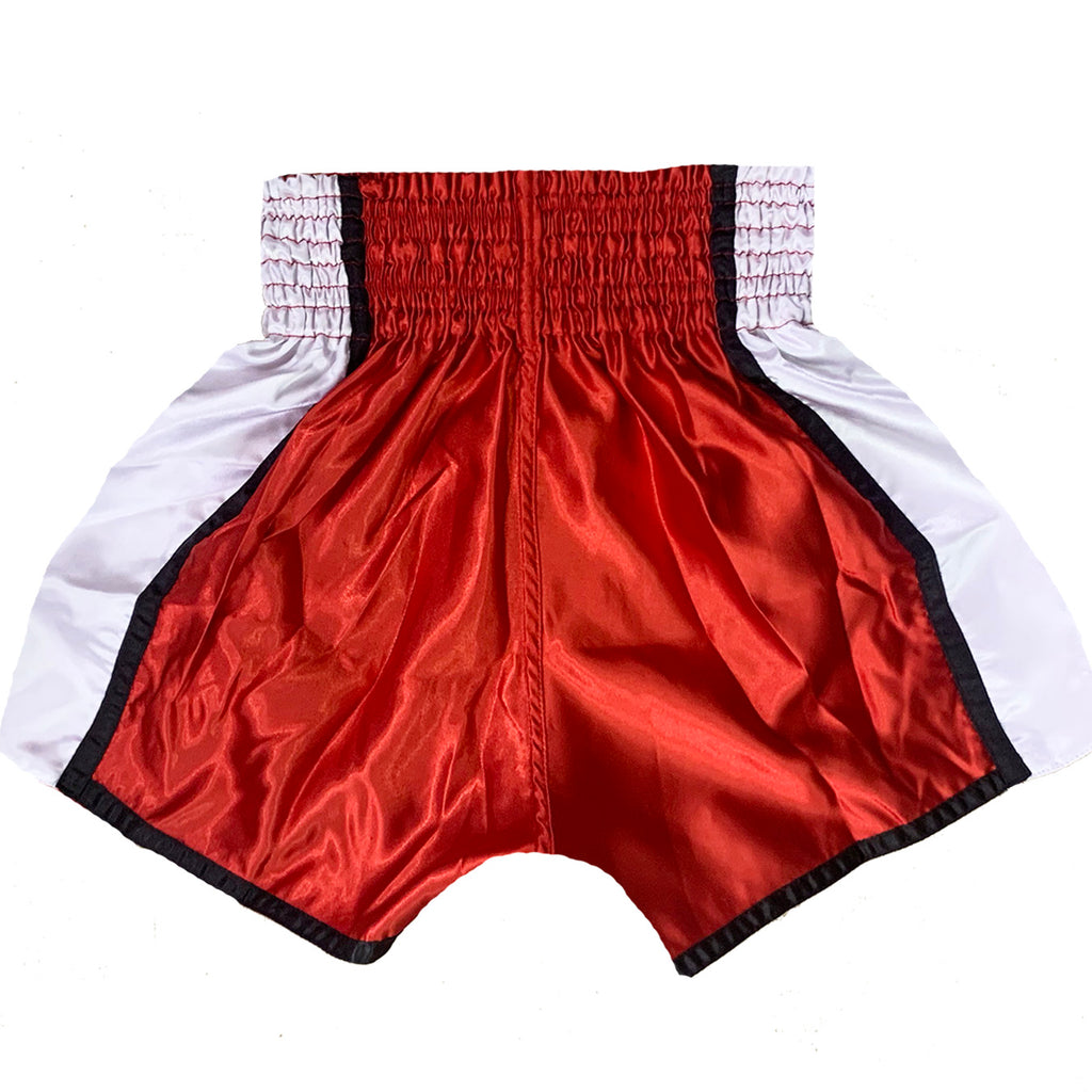 AK-47 Muay Thai Shorts Red & White