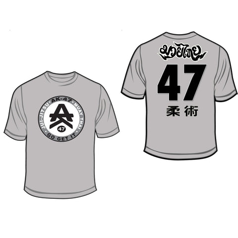 Team 47 T-shirts Gray
