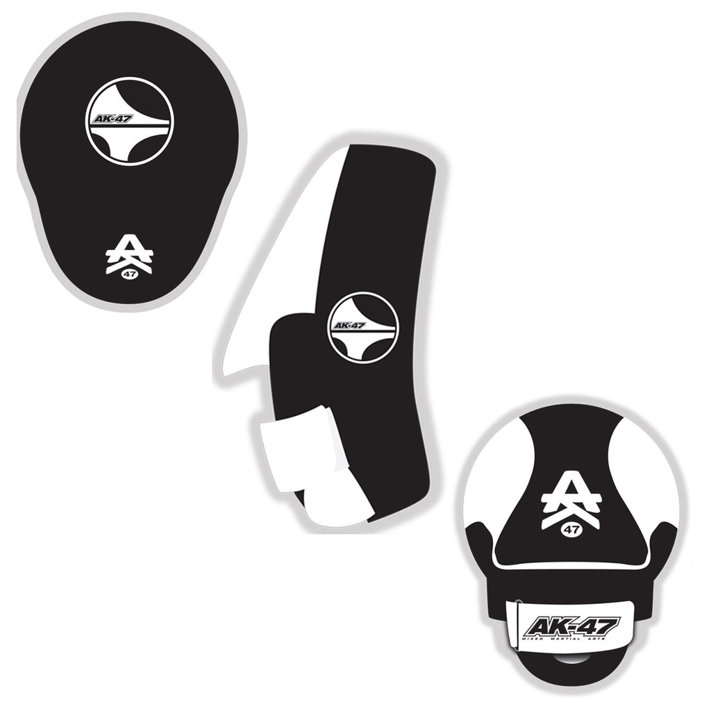 Ak-47 MMA focus mits for Muay thai, boxing, and Kickboxing
