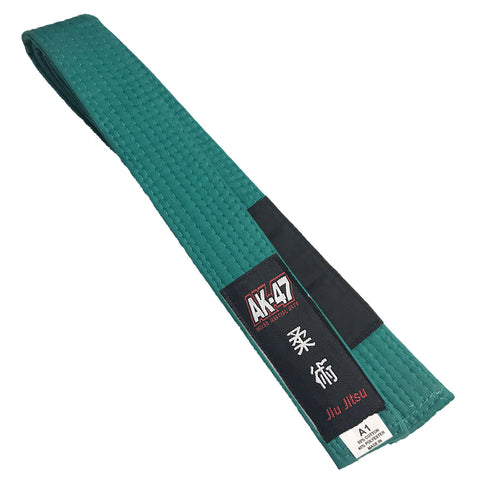 AK-47 Jiu Jitsu Belt Green