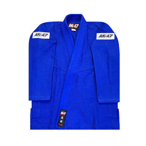 AK-47 Kids Jiu Jitsu Uniform Blue