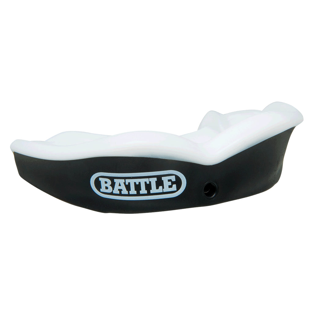 Battle Science Ultra Fit Mouthguard Kids Black & White