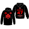 Team 47 Davis Hoodies