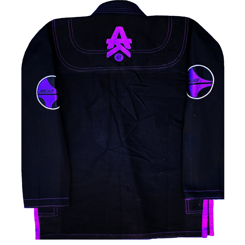 G5 BJJ Gi/Uniform Black & Purple