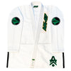 G5 BJJ Gi/Uniform White & Green