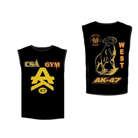 Team 47 Justin West Muscle Tee
