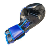 Matrix Boxing Gloves Leather Black & Blue