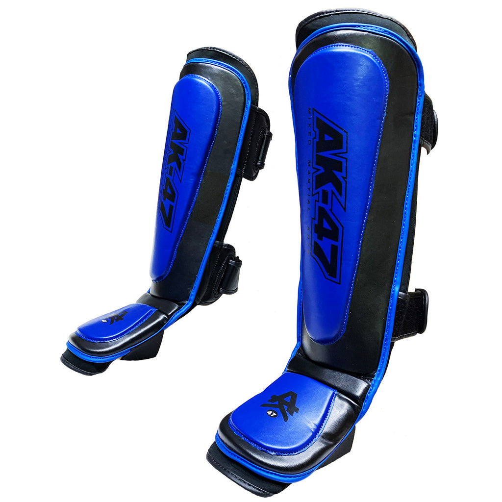 Matrix Shin Pads Black & Blue
