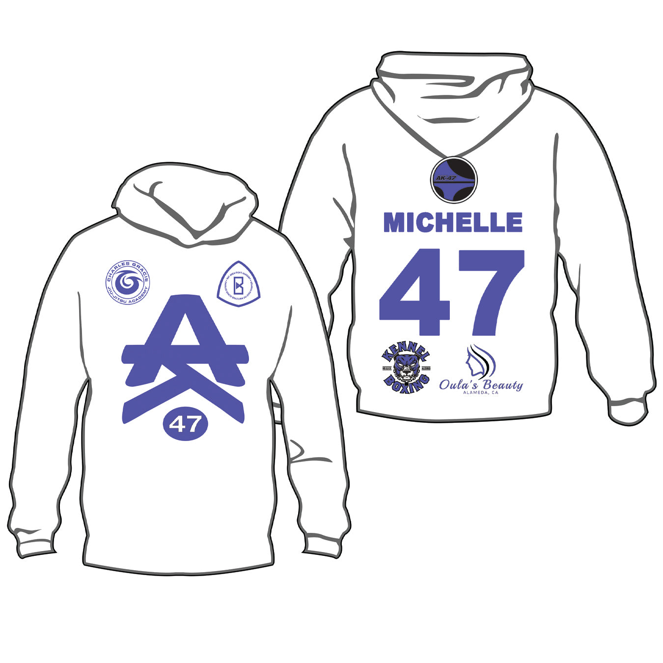 Team 47 Stacy Michelle Hoodie