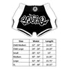 Muay Thai Shorts Blue & White