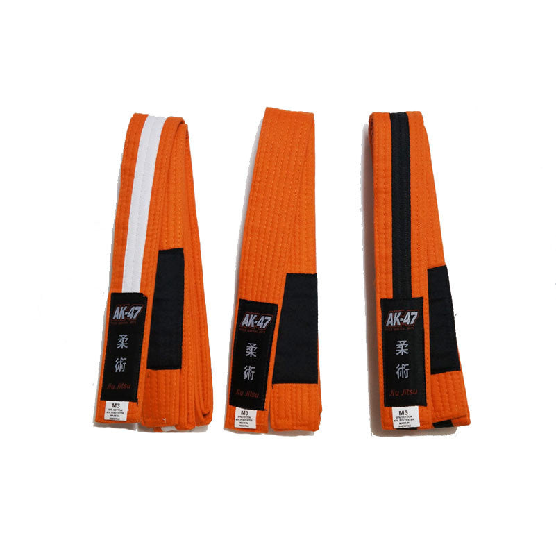 AK-47 Kids Jiu Jitsu Belt Orange