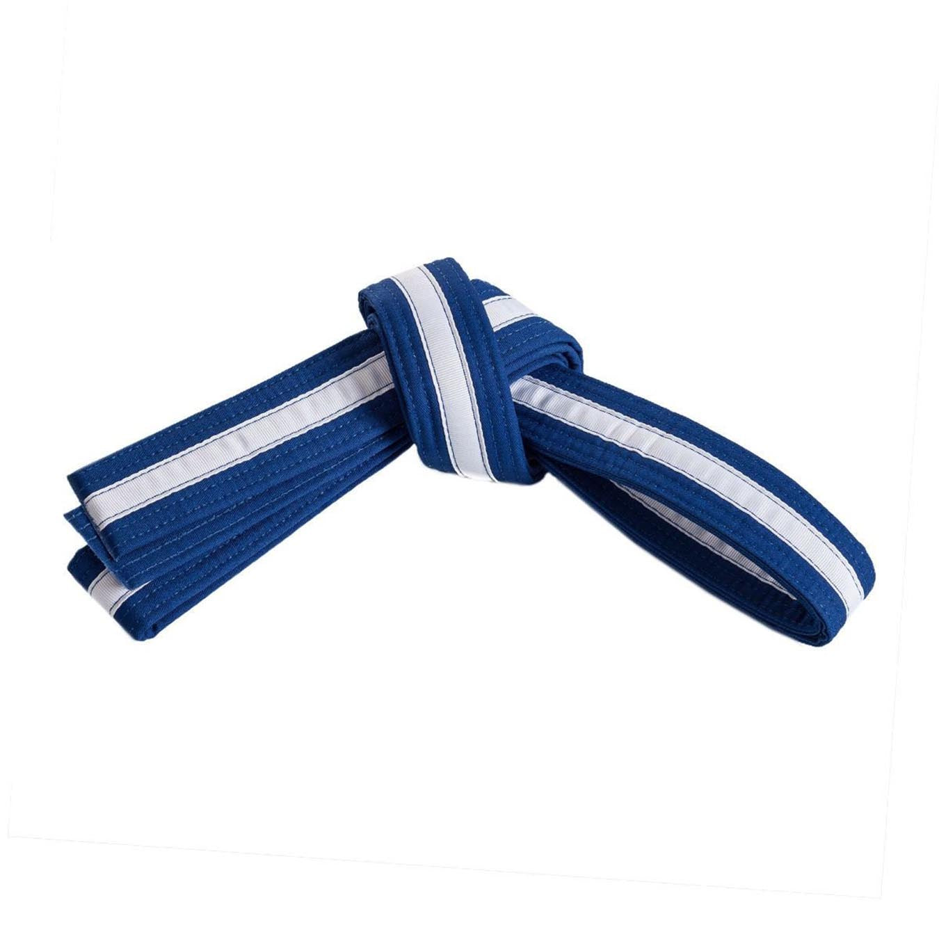 Blue Belt with White Stripe