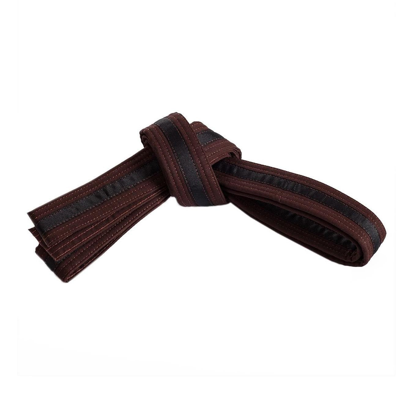Brown Belt with Black Stripe
