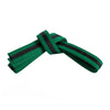 Green Belt with Black Stripe