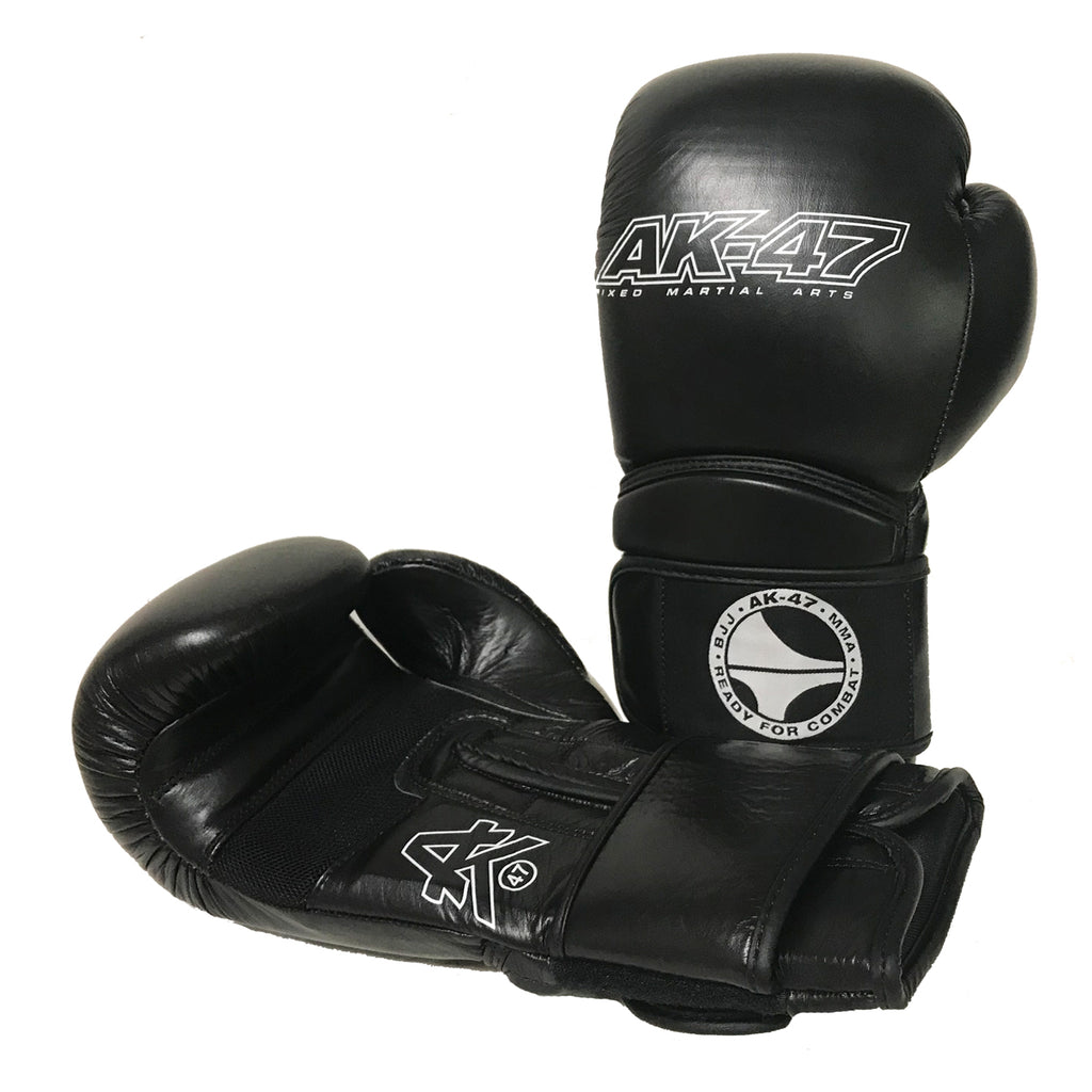 Matrix PREMIER Boxing Gloves Leather Black