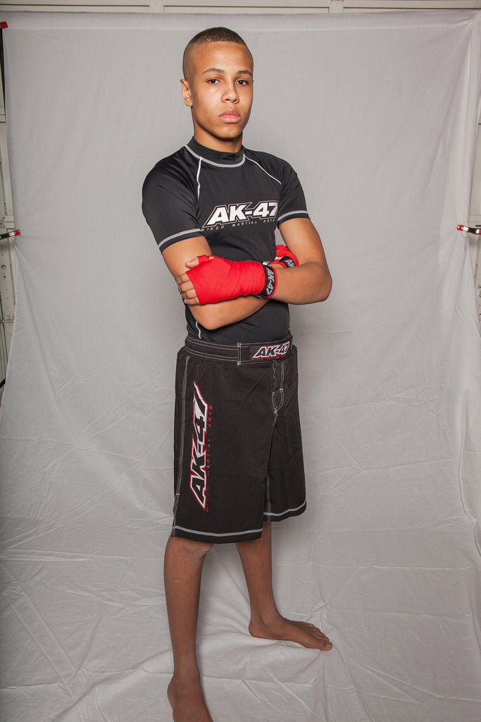 AK-47 Rash Guard & Fight Short Combo