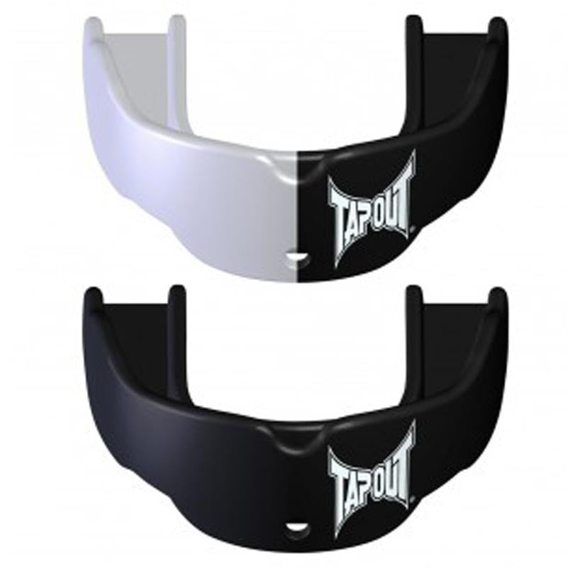 Tapout Mouthguard Adult Two Pack Black & White