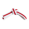 White Belt with Red Stripe