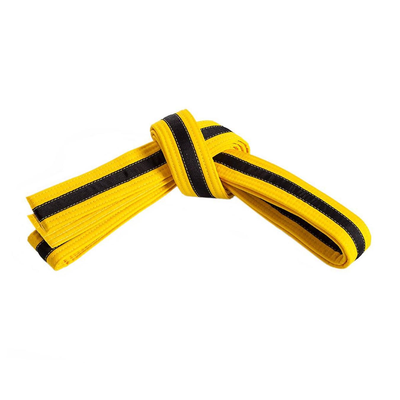 Yellow Belt with Black Stripe