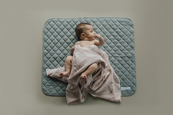 Quilted Playmat - Marle Grey