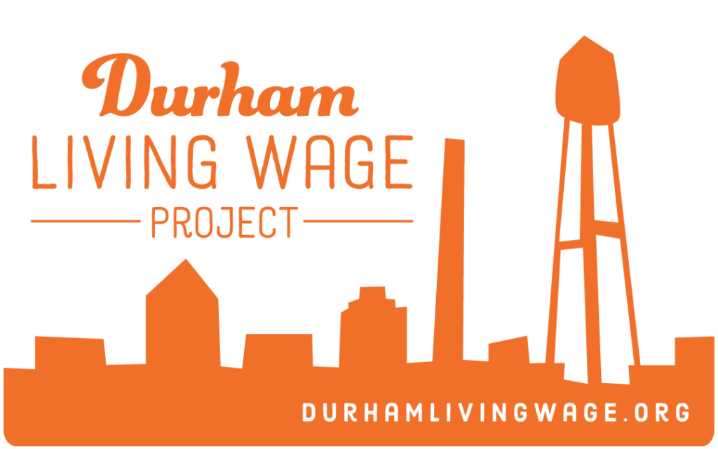 Sustainability in Action: Durham Living Wage Project Logo