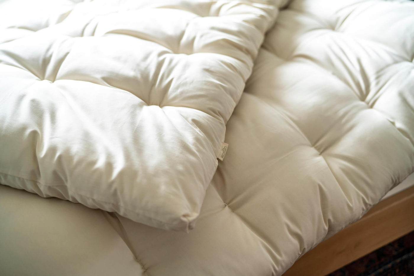 Organic wool mattress toppers from Resthouse.